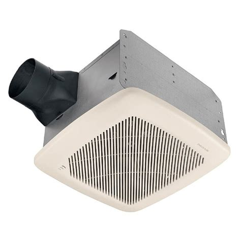 lowes bathroom exhaust fans broan 1 1 2 sone 100 cfm white bath fan energy star lowe