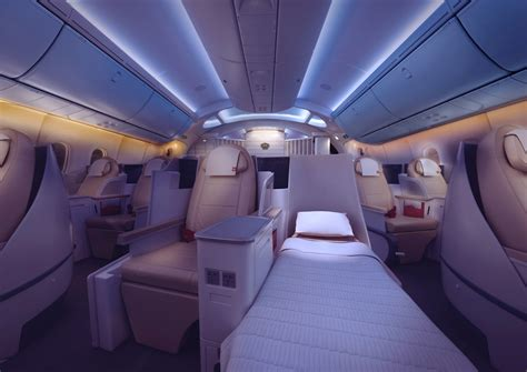 Double Decker Bed by Royal Jordanian S 787 Offers Understated Luxury Thedesignair