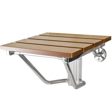 wall mounted folding bench folding shower seat bench wall mount solid wood