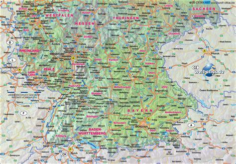 Motorrad Landkarten Deutschland by Landkarte S 252 Dwestdeutschland Hanzeontwerpfabriek
