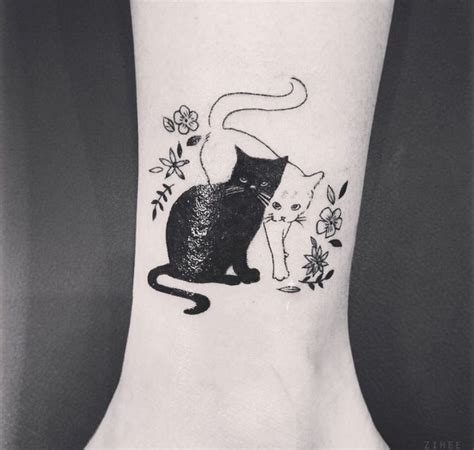 best buds tattoo 40 beautiful cat tattoos