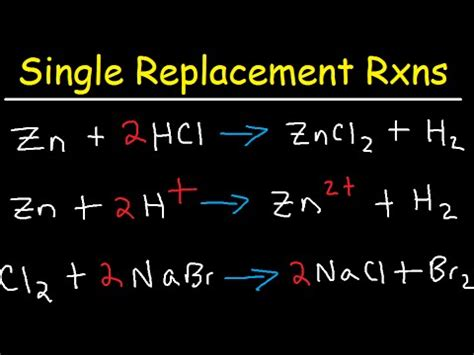 tutorial on net ionic equations vote no on single replacement reactions
