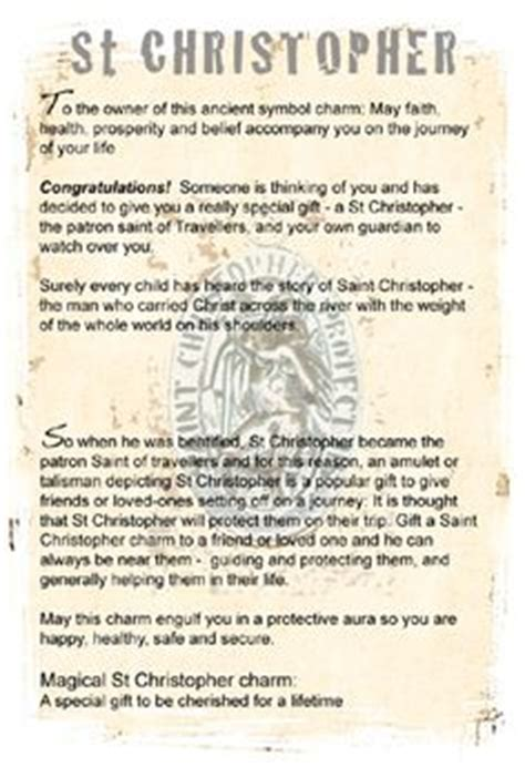 born lucky definition 1000 images about st christopher jewellery for the