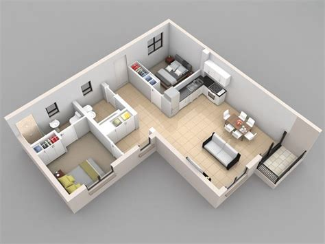 l shaped studio apartment design 21 best garage apartments images on