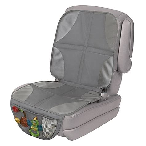 summer infant car seat protector buy summer infant 174 duomat 174 car seat protector in grey from
