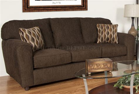 council sofa collection council chocolate fabric modern sofa loveseat set w options