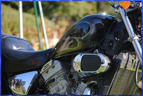 Motorrad Teufel Film by Airbrush Motorrad Motorradtank Old School Flammen