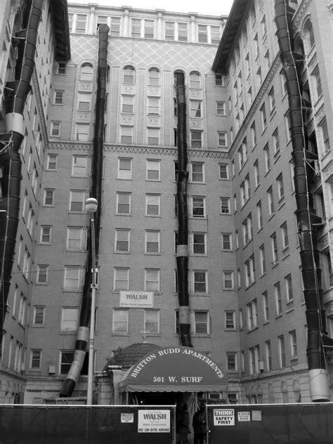 Apartment Snakes - Chicago   Trash chutes snaking down