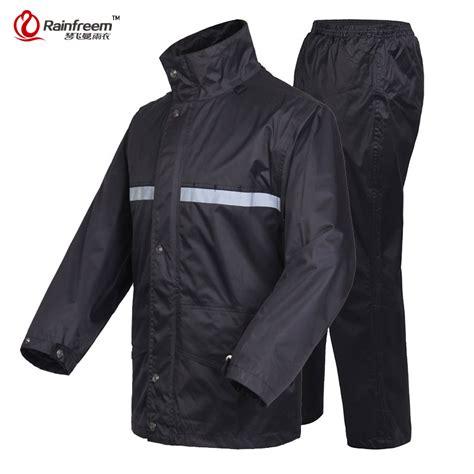 Set Adulty Pant Rainfreem Brand Impermeable Raincoat Jacket