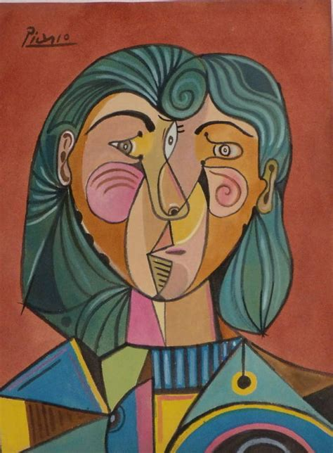 pablo picasso cubist faces cuttin switchin screwin fixin alexandramantoura