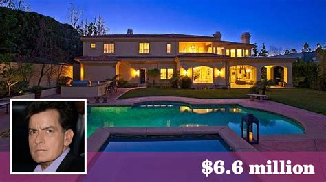 charlie sheen house charlie sheen comes up short in sale of sherman oaks home la times