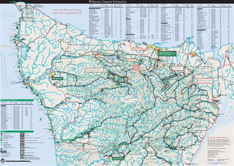 olympic national park trail map nostalgicoutdoors olympic national park guide