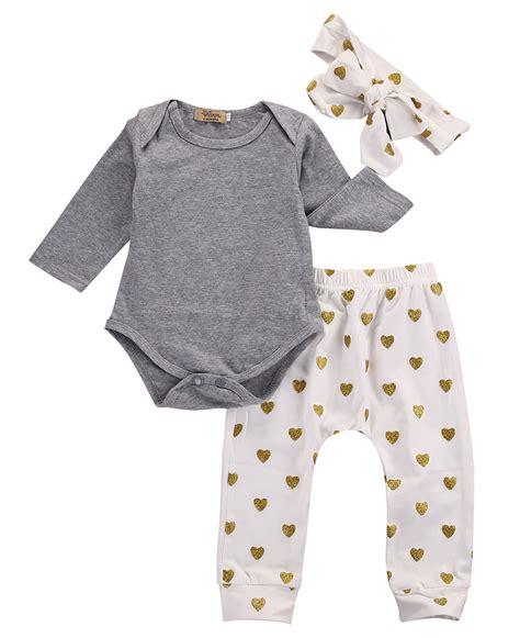 Set Hoddie Headband Handband 3pcs 2016 new autumn baby boy clothes set cotton t shirt headband 3pcs infant clothes