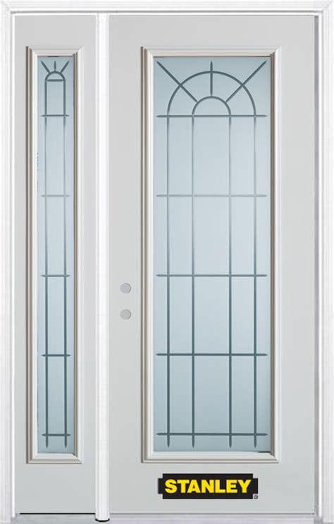 stanley doors 48 inch x 82 inch chablis lite white