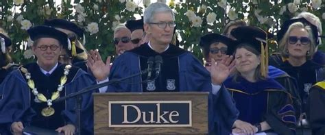 Duke Mba Diploma by Tim Cook Invokes Parkland High School Students Metoo