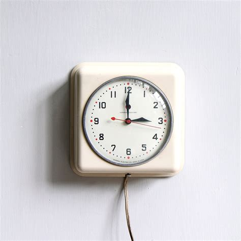 kitchen clocks vintage modern kitchen clock by ethanollie on etsy