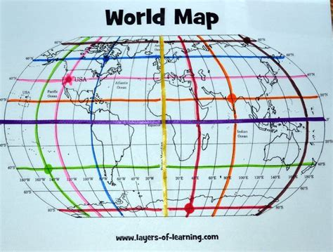 Printable World Map Equator | pin by eva szoverfi on geography maps pinterest