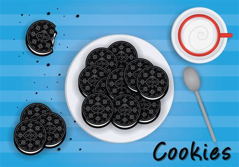 oreo pattern vector oreo vector download free vector art stock graphics