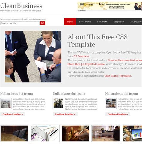 free html and css templates designfollow 30 free css and xhtml templates design designdune