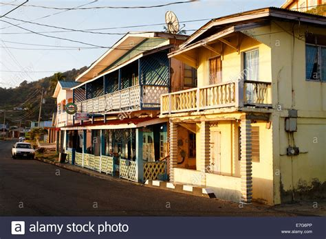 buying a house in trinidad traditional houses windward road speyside tobago trinidad and stock photo royalty