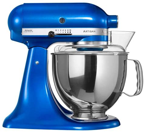 kitchenaid mixer 220 volt kitchenaid 5ksm150pseeb artisan stand mixer electric blue