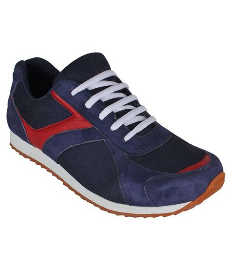 san vertino navy leather sport shoes price in india buy