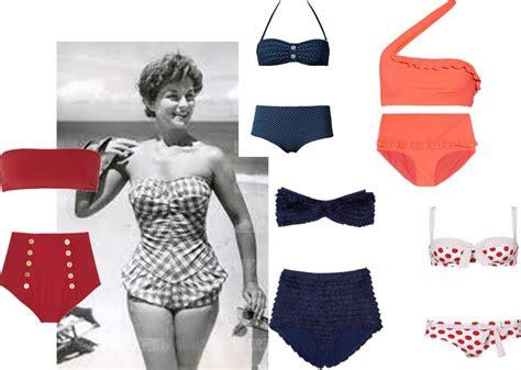 costume da bagno anni 50 costume da bagno vintage tornano gli anni 50