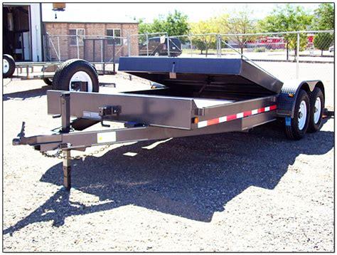tilt bed trailer tilt bed trailers