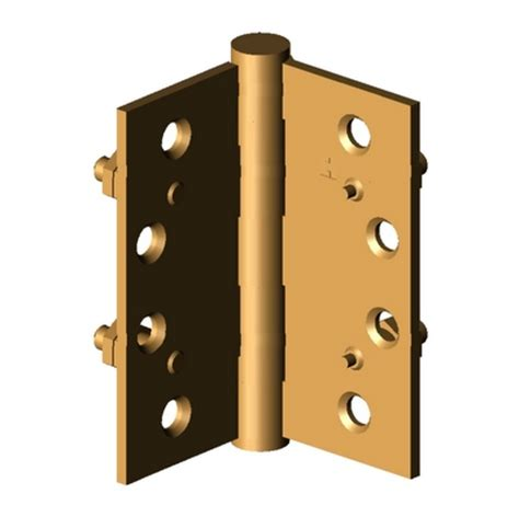 door hardware e2 hinge hager companies 3d model