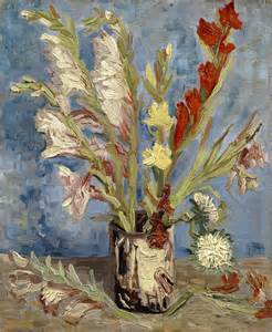 Vincent Gogh Vase by File Vincent Gogh Vaas Met Tuingladiolen En