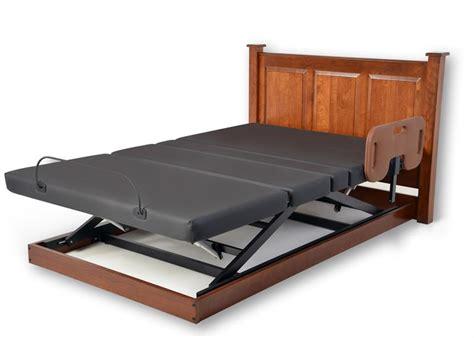 platform series electric hi low and articulating bed