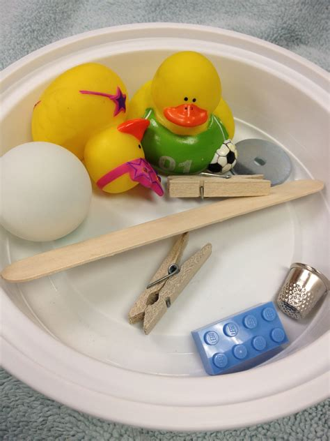 Objects That Sink And Float by Make A Splash Water Science For Preschoolers Alsc