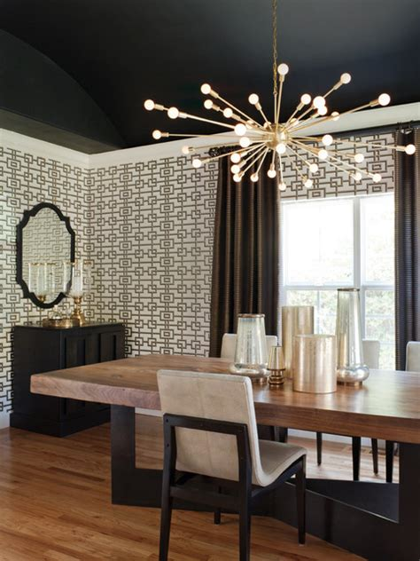Dining Room Lighting Modern by Willow Glen Residence Transitional Dining Room San