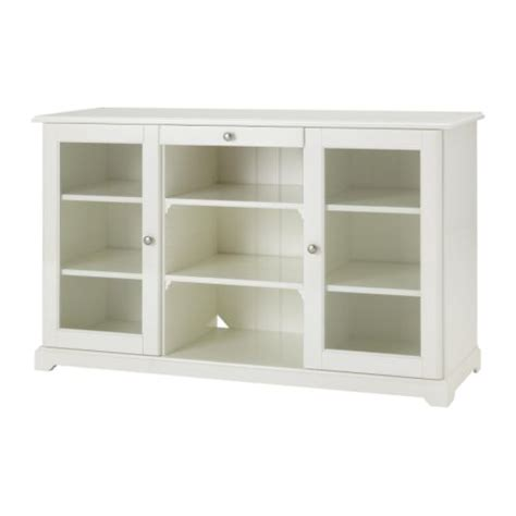 Sideboard With Glass Doors Liatorp Sideboard White Ikea