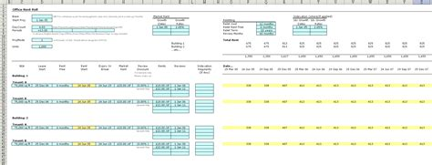 Business Functions Library For Excel Microsoft Excel Rent Roll Template