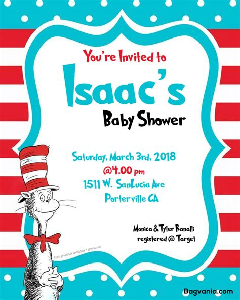 Dr Seuss Baby Shower Invitations Templates by Free Dr Seuss Baby Shower Invitation Psd Template Free