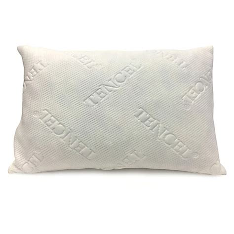 latex pillow bed bath and beyond new domaine shredded latex pillow with tencel 174 cover