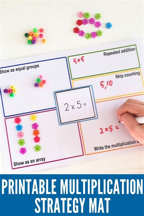 Mat Mathematics by 25 Best Ideas About Multiplication Strategies On Multiplication Maths Times Tables