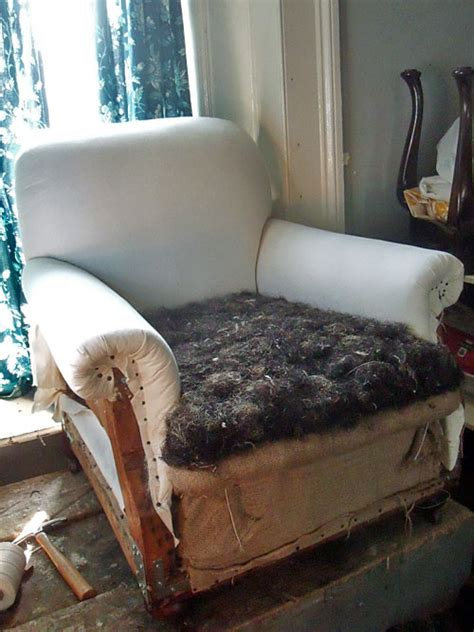 horsehair upholstery stuffing the glasgow guild furniture restoration upholstery and