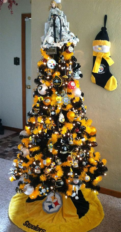 images of a steelers christmas tree you you re a steelers fan when version 2 pittsburgh beautiful