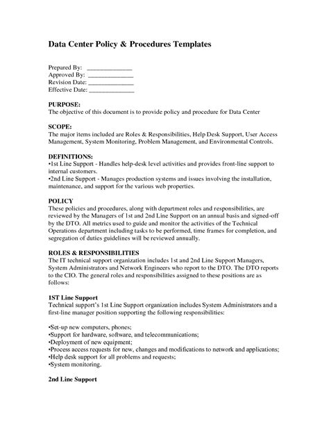 policies and procedures template policies and procedures template lisamaurodesign