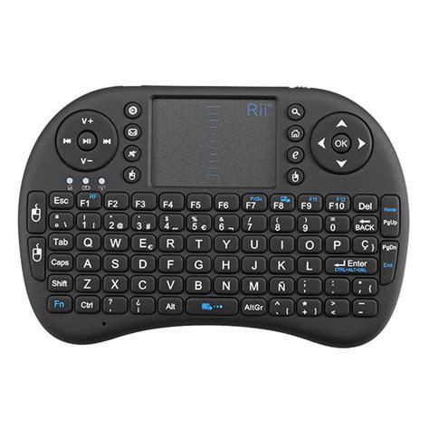 Rii I8 2 4g Mini Wireless Keyboard rii i8 2 4g wireless spainish qwerty mini keyboard