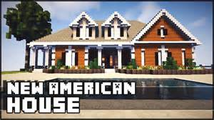 Small Colonial House by Minecraft American Style Mansion Youtube