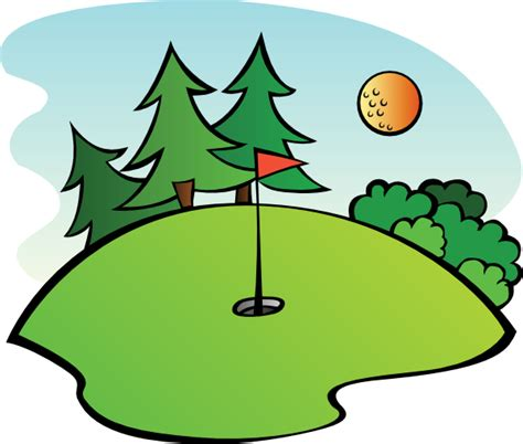 golf clipart golf course clip at clker vector clip