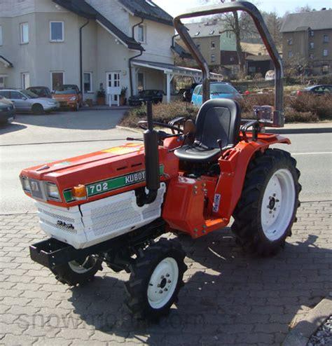 Traktor Neu Lackieren Kosten by Kleintraktor Kubota B1702 Gebraucht Komplett 252 Berholt Und