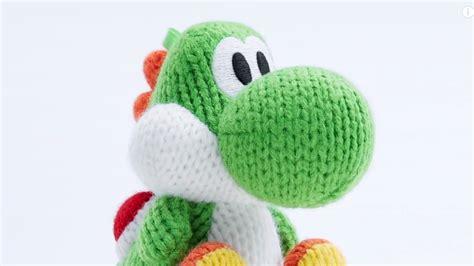 knitting pattern yoshi this woolly yoshi amiibo will make magic happen on screen