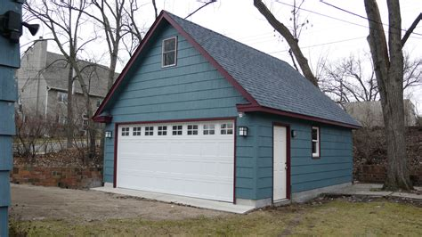 how to build a 2 car garage minneapolis two story garages