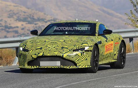 2019 Aston Martin Vantage spy shots and video