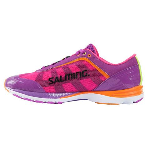 distance running shoes salming womens distance running shoes purple