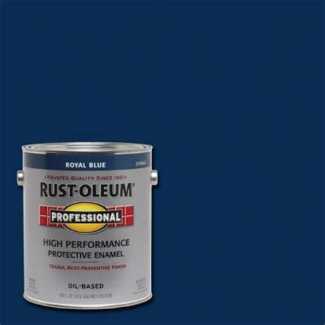 Home Depot Wood Doors Interior rust oleum professional 1 gal royal blue gloss protective